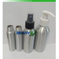 China Custom Empty Cosmetic Perfume Bottles Aluminum Containers with Spray Pumps wholesale