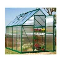 China perfect anodized aluminium frame/hollow polycarbonate twin wall sheet cover cold frame kits/mini greenhouse HX63222-1 on sale