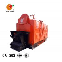 China Horizontal Biomass Fired Steam Boiler , Wood Fired Hot Water Boiler 1-20 T/H Rated Output wholesale