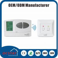 China RF Electronic Programmable Thermostat For Heating  system 868MHZ radio frequency wireless room thermostat HVAC wholesale
