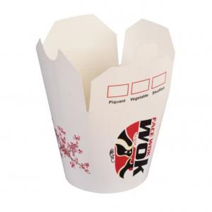 China Foldable Disposable Paper Packaging Accessories Noddle Soup Bucket 14oz 16oz 26oz wholesale
