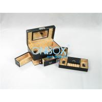 China SAP22038 Luxury Leather Jewelry Case For Jewelry Collection wholesale