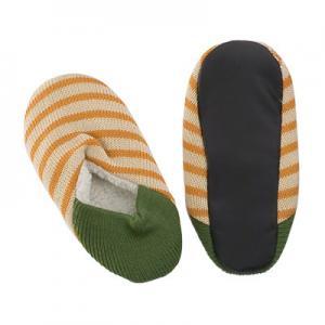 China Non Slip Aloe Infused Spa Socks Home Acrylic Acorn Slipper 23cm wholesale