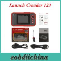 China Launch Creader 123 OBD EOBD update online multiple languages wholesale