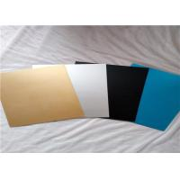 Buy cheap ASTM B209 Pre Painted Aluminum Sheet / Colored Anodized Aluminum Sheets from wholesalers