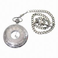 China Promotional Pocket watch with Alloy Case Retro Copper Color, Simlar Style Have 10 Styles wholesale