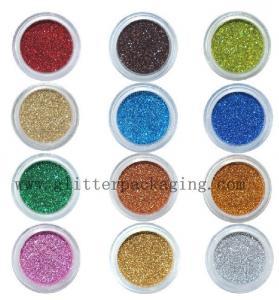 "China Hexagonal PET Laser Glitter powder 1/10"" Holographic Glitter Dust Cosmetic Glitter wholesale"