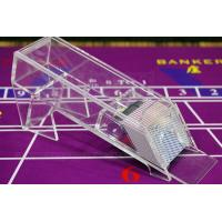 China Transparent Poker Shoe / Baccarat Cheat System For Gamblers for normal cards wholesale