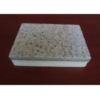 Buy cheap Polyurethane Plate External Wall Insulation Cladding Panel Exterior Insulation from wholesalers