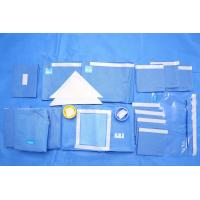 China Breathable SMMS EO Sterile Fenestrated Drape Packs for Clinic Surgery wholesale