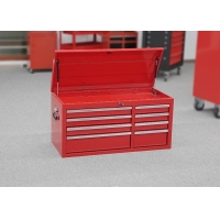 China Big Capacity Professional Garage Storage 8 Drawers Top Tool Chest wholesale