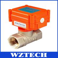 China Mini Motorized Valve For Water Treatment, HVAC, Remote Control Intelligent Valve wholesale