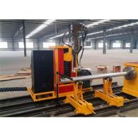 China Manufacture Industry Plasma Oxyfuel Cutting and Beveling automatic copper tube cutting machine,cnc steel pipe cutting ma wholesale