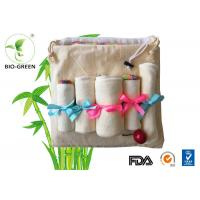 China Velour Cloth Bamboo Organic Baby Wipes Gentle Softness For Baby Sensitive Skin wholesale