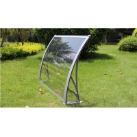 China Solid Hollow Polycarbonate Canopy Cover Heat Insulation Aluminum Alloy Frame on sale