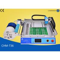 China CHMT36 Desktop SMT Pick and Place Machine , SMT equipment For LED SMD Surface Mounting wholesale