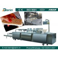 Buy cheap Chocolate Cereal Bar Making Machine stantless steel 304 Material from wholesalers