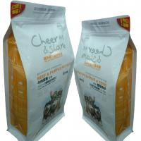 Quality Zip Lock Customised Small Pet Food Bags For Fruity Biscut Orange Slice for sale