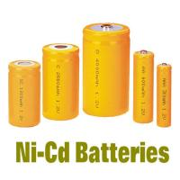 China NiCd Battery Packs AAA300MAH , Rechargeable Batteries BackUP Power wholesale