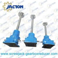 China 25 Ton Ball Screw Jack High Precision Ball Screw Dia. 80MM Lead 16MM Gear Ratio 32:3, 32:1 wholesale