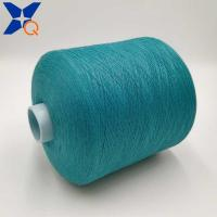 Quality Blue green Ne21/2plies 10% stainless steel blended 90% polyester for knitting for sale