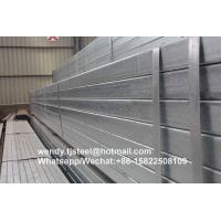 China bs1387 Popular Hot Dip Galvanized Square Steel Tubes on sale