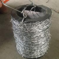 China Normal Twisted Electric Galvanized Barbed Wire Security Barbed Wire Fencing In Bucket wholesale