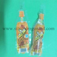 China 150ml Plastic drink bag with Bottle shape wholesale