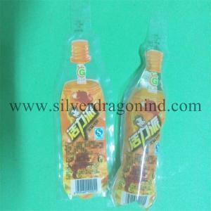 China 150ml Plastic drink bag with Bottle shape wholesale