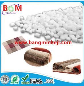 China Carpet backing tpe tpr raw material, compound, pellets, granules for carpet, rug,mat backing/SEBS Based TPE TPR granules wholesale