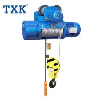 China TXK CD Type Wire Rope Hoist Control Pendent With Overload Protection Application Warehouse wholesale