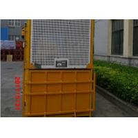Buy cheap Single Cage 1000kg Material Personnel Hoist With Counterweight from wholesalers