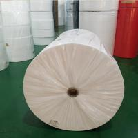 China Water Repellent Non Woven Cloth , Non Woven Polyester Fabric Rolls Harmless wholesale