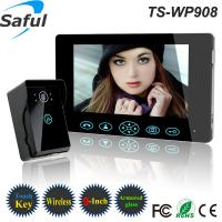 China 9 inch touch key 2.4GHz digital peephole video doorbell with night vision phone for home wholesale