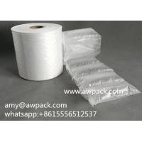 China Custom Printing Inflatable Air Cushion Bag Roll Film with cheapest price wholesale
