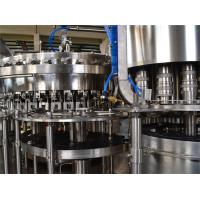 China DCGF40-40-10 Automated SUS. 304 Carbonated Drink Filling Machine Gas Beverage Bottling Equipment wholesale