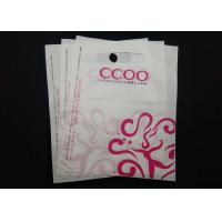 China Clothing Store Die Cut Handle Plastic Bags Waterproof 100% Recyclable Material wholesale