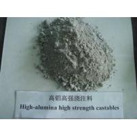 China high alumina high strehgth refractory castable on sale