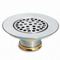 China Drain/Stainless Steel Sink Strainer, Used for Kitchen Sinks with Smooth Polished wholesale