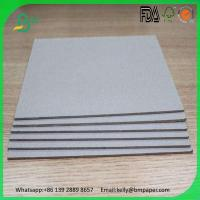 China Duplex Board Both Sides coated grey color grey board for jewelry boxes on sale