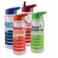 China 800ml sports water bottle with Matching Rubber Grip on sale