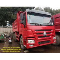 China 20 Cubic Meters Used Commercial Dump Trucks 375 Hp Horse Power CE Standard wholesale