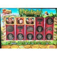 China Bean Talks Jackpot Slot Video Machine With Spanish Language Games And Boards on sale