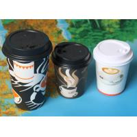 China PE Coated Single Wall 4oz / 6.5oz Personalised Disposable Coffee Cups For Party wholesale