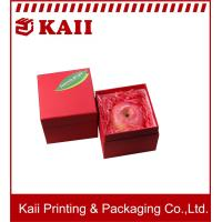 China Promotional 1000g Grey Card + 157g Art Paper Red Small Pretty Paper Gift Box /  Gift Packaging Boxes wholesale