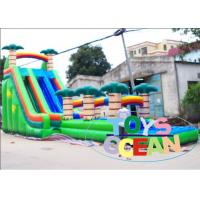 China Double Inflatable Water Slide wholesale