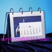 China 2015 desktop acrylic brochure holder / acrylic calendar holder wholesale