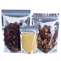 China Re Sealable Plastic Ziplock Bags Food Packing Eco-Friendly for stationery wholesale