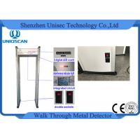 China CE/ISO certificated LED screen with High density material walk through metal detector wholesale