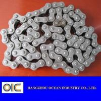 China 415 415H 420 428 428H 520 520H 525 525H 530 530H 630 Motorcycle Chain With 4 Sides Rivet wholesale